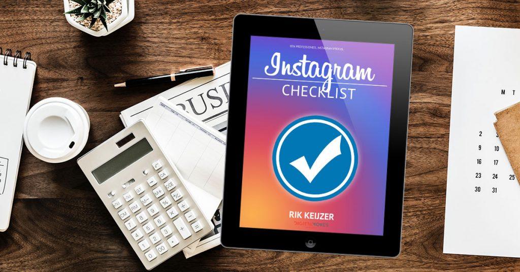 Rik Keijzer - Checklist Instagram