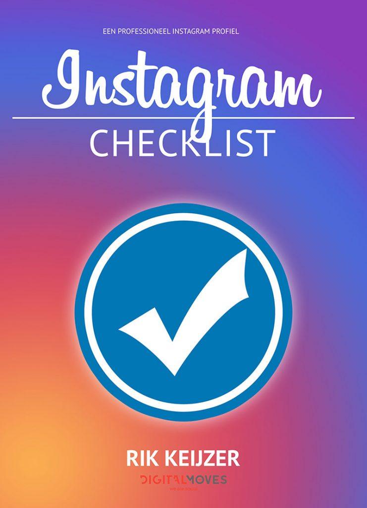 Rik Keijzer - Digital Moves - Instagram checklist