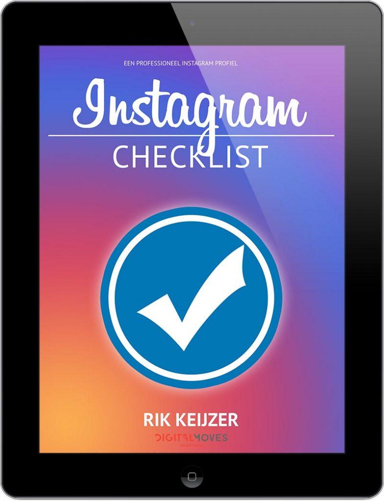 Rik Keijzer - Digital Moves - Instagram checklist - februari 2019