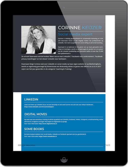 Corinne Keijzer - Digital Moves - LinkedIn checklist - September 2018