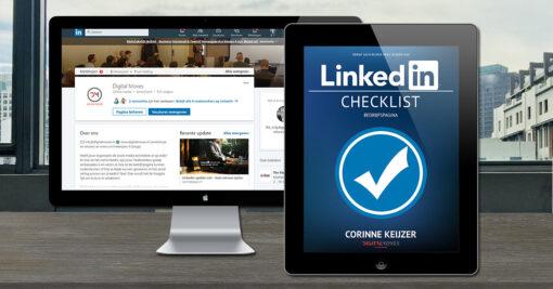 Corinne Keijzer - LinkedIn bedrijfspagina checklist